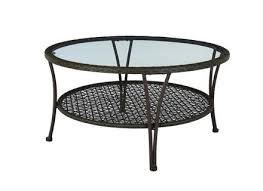 coffee table lincoln glass top round coffee table pier 1 imports