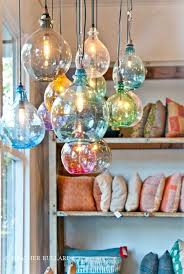 attractive ideas blown glass pendant lights lighting design alluring custom hand for hanging and decorative art