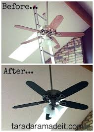 painting ceiling fan blades ceiling ceiling fan blades update your ceiling fan with paint pretty handy