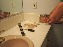 installing bathroom tips for a vanity replace granite how to countertop undermount sink