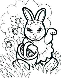 Easter Coloring Pages For Kids Coloring Pages For Preschoolers