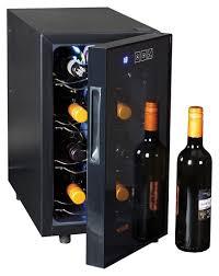 picture of 8 bottle wine cooler fridge