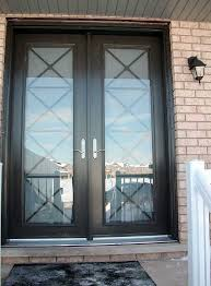 fiberglass front double entry doors. windows and doors toronto-custom front doors-custom fiberglass -milan-design-fiberglass-8-foot-double-front-door-with-multi-point-locks-installed by double entry i