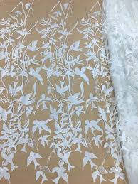 <b>Exquisite</b> Bridal Wedding Lace Fabric With Floral Embroidery Lace ...
