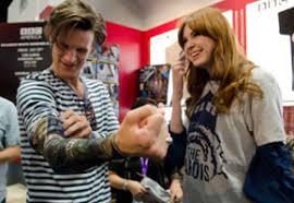 WATCH: 'Doctor Who' Stars Matt Smith, Karen <b>Gillan</b> Surprise <b>Fans</b> ...