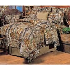 realtree all purpose camo comforter set