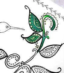 Small Picture Hummingbird Coloring Page a free printable coloring page for adults