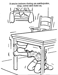 Small Picture coloring pages earthquake safety coloring book helps kids prepare