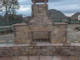 oklahoma choprock fireplace hearth and sitting benches