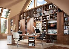 the perfect home office. Avalon Fitted Home Office, Neville Johnson. PA Photo/Handout The Perfect Office