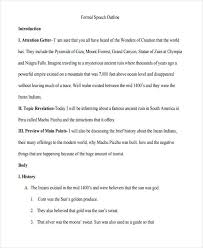essay template formal outline template outstanding essay 7 formal outline templates sample example format