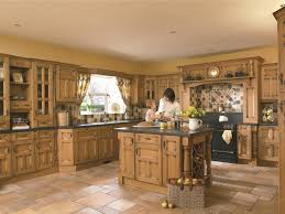 Eco Friendly Kitchen Cabinets Spanish Eco Friendly Kitchen Interior With Freestanding Island And