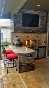 Granite For Outdoor Kitchen Granite And Stonework Outdoor Kitchen With Entertainment