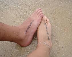 тату надписи со смыслом на ногу для девушки 3 лучших фото