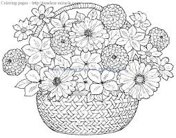 Coloring Pages For Girls With Flowers The Art Jinni