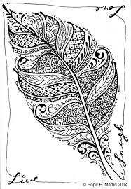 feather coloring page beautiful 125 best abstract coloring pages images on