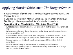 what is marxist criticism ppt video online  applying marxist criticism to the hunger games