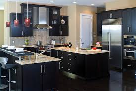 modern black kitchen cabinets. 22 Dark Kitchen Ideas With Brown Cabinets Modern Black I