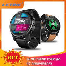 Nhỏ Thứ Hai 4G Đồng Hồ Thông Minh Smartwatch Thor 4 Pro 1.6 Inch Màn Hình  Tinh Thể GPS/GLONASS Quad Core 16GB Hybrid dây Da Đồng Hồ Thông Minh|Đồng  hồ thông minh