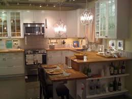 small apartment table kitchen u shaped tipperary crystal chandeliers off white cabinets best place to