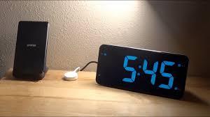 LIELONGREN <b>Digital Alarm Clock</b> Unboxing and Set-up!! - YouTube