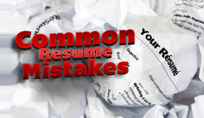 Common Mistakes in CV or Resume Writing