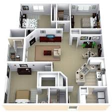 Two Bedroom Flat Design Plans Remarkable Three Bedroom Apartment Layout  Best Ideas About Apartment Floor Plans