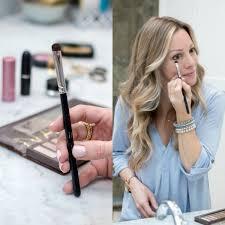 easy everyday makeup tutorial smudging eyeliner