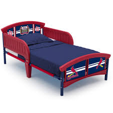 mlb st louis cardinals plastic toddler bed by delta children com