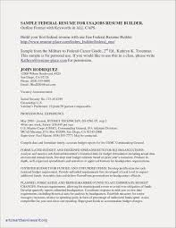 Resume Federal Jobs Best Awesome Sample College Application From