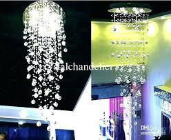 teardrop crystal chandelier calypso 6 light