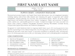 Logistics Management Resume Logistics Management Specialist Resumes Mozo
