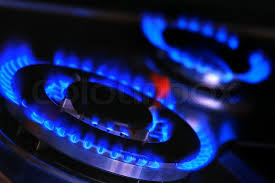 gas stove flame. Blue Flames Of Gas Stove, Stock Photo Stove Flame