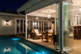 stacking frameless glass doors patio pool patio with frameless glass stacking doors durban frameless glass doors projects