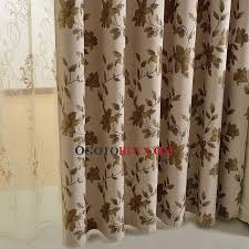 printed fl pattern thick thermal chenille best blackout thick thermal lined curtains