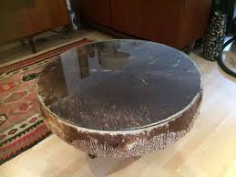 stunning vintage african drum coffee table in golders green