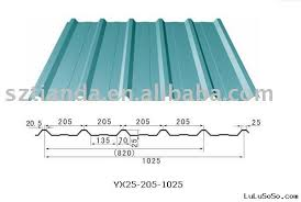 corrugated color sheet manufacturers in long span corrugated steel roofing sheet size