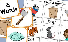 The collection of worksheets below will help students find and decipher vowels that don't sound like as they appear. Short A Phonics Worksheets