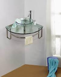corner bathroom sink shelf