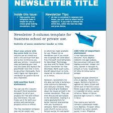 Newsletter Format Examples Newsletter Design For Karl Dudwal By Asa Designer 1771801