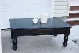 Black Coffee Table Small Coffee Tables Chic And Modern Black Table Is Also A Round