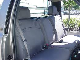 seat covers in a new chevy silverado with a 40 20 40 split bench seat