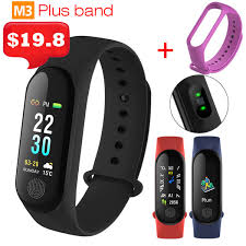<b>M3 Plus</b> Band3 <b>Smart Bracelet</b> Heart Rate Blood Pressure Phone ...