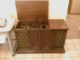 Vintage Record Player Cabinet Imanisr Com