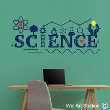 science lab wall decal wall art