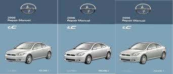 2006 SCION tC Shop Service Repair Manual Book Engine Drivetrain OEM ...
