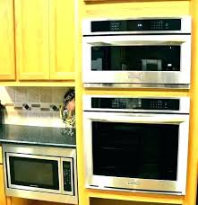 kitchenaid 24 wall oven single electric