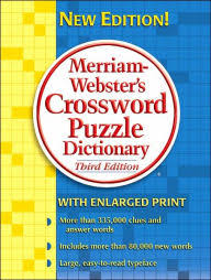 merriam webster s crossword puzzle dictionary