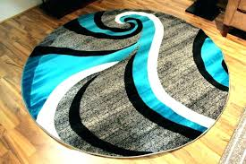 round turquoise rug area rugs large size of amazing ruger target