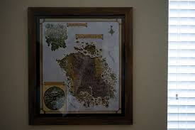 finally decided to get my old vvardenfell map framed  on map wall art reddit with finally decided to get my old vvardenfell map framed morrowind